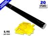 Bestel de goedkoopste 80cm confetti shooters met gele brandvrije papieren confetti bij Partyvuurwerk. Eenvoudig online bestellen en snel geleverd!