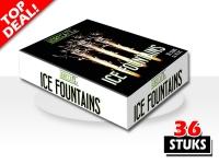 Professionele ijsfonteinen met 45 seconden zilverspray, speciaal voor gebruik in de horeca en op evenementen