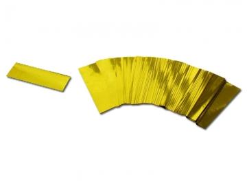 Partyshooter gevuld met metallic gouden confetti. Met deze shooters schiet je eenvoudig een regen van confetti hoog de lucht in